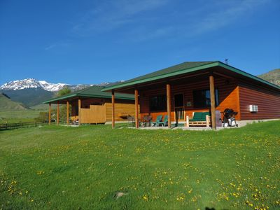 Photo for ***FIVE STAR CABIN ON YELLOWSTONE RIVER***!!! THE GRIZZLY DEN CABIN on YNP River