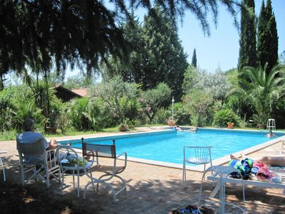 Photo for ROME VILLA COTTAGE EXCLUSIVE USE OF LARGE SWIMMING POOL TREEHOUSE AVAILABLE