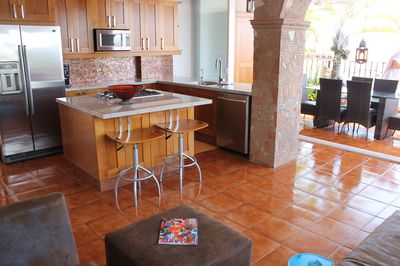 Newly Remodeled Fully Stocked Kitchen with Dishes to serve 12 guests