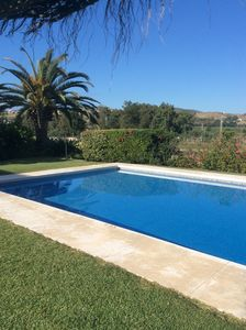 Photo for FRONT LINE at Mijas Golf, stylish modern fairway Villa with large pool