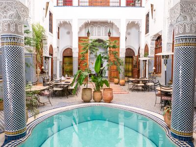 Photo for Two suites in a Fez riad for 5 people. Two private bathrooms