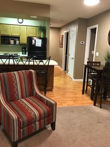 Photo for Nice 2 Br 2 Ba Condo Free Wi-fi 1 Mile To Silver Dollar City! Across from Pool