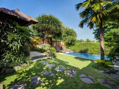 Photo for Romantic - Charming -Hideaway in bali local compound