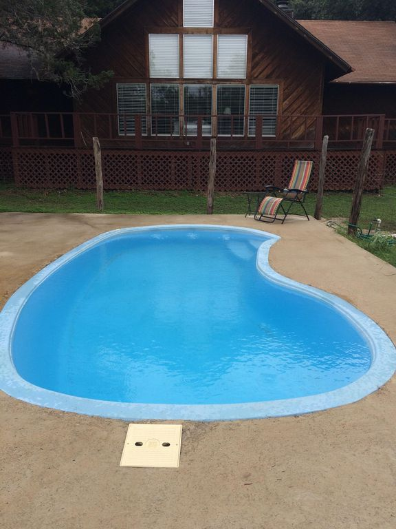 Rental House In Concan With Pool Sleeps 16 Concan Texas