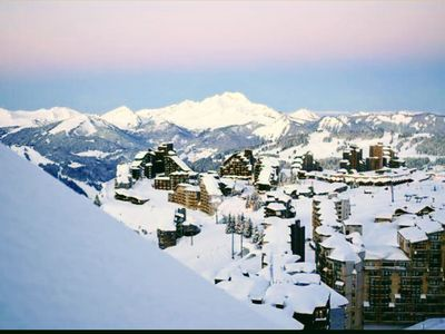 Photo for Avoriaz, 5 people apartment on the slopes