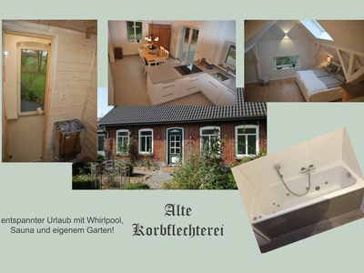 Photo for Sauna, whirlpool and large natural garden for a relaxing holiday