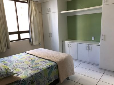 Photo for Excellent apt, prox. Beira Mar, 3 qto with air, INTERNET, garage, screens protection