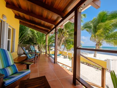 Photo for Beautiful 4 Bedroom 3.5 Bathroom Beachfront Island Home