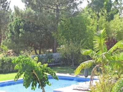 Photo for Villa For 14+2 with ample garden & pool located at walking distance from the bea