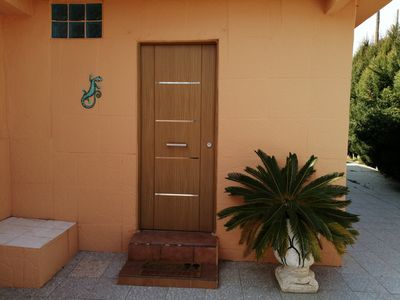 Photo for Lovely cottage with garden only 3 km from the beach.