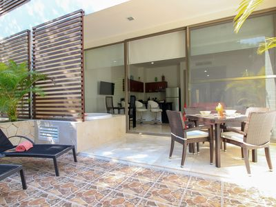 Photo for Stunning Studio with Jacuzzi on Terrace