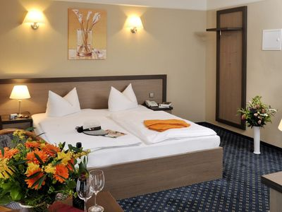 Photo for Double room with kitchenette - beach Hotel Nordischer Hof