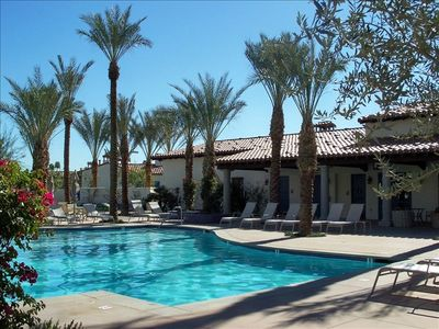 Photo for Be by the main pool on ground level!  3 Bd/3 Bath Villa in Gorgeous Legacy Villa