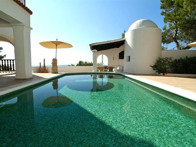 Photo for Villa San Antonio with gorgeous sea views, a short drive to Ibiza beaches! Catalunya Casas