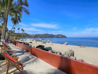 Photo for Casa Tocayo, Beachfront Apt., 1 BR, 1 BATH, Sleeps 4
