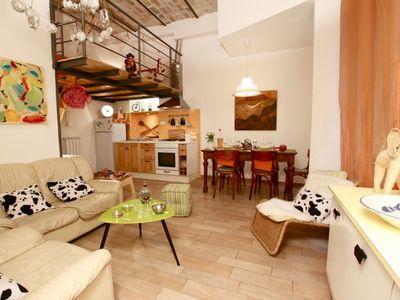 Photo for Comfortable, quite, spacious,well connected with historic city centre,view of Vittorio Square garden