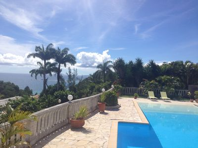 Photo for Beautiful large luxury spacious Villa large pool ideally situated for sea.
