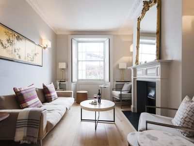 Photo for Spacious Ladbroke Road House  apartment in Kensington & Chelsea with private garden.