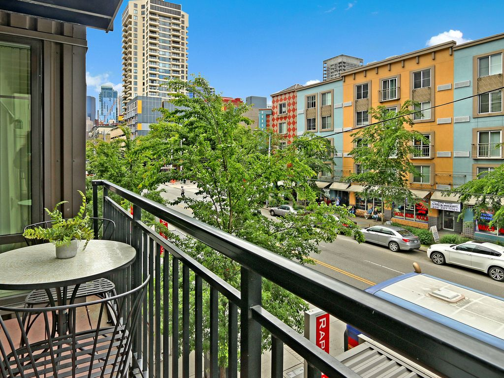 2 bedroom downtown seattle oasis 4 7 12 homeaway for 7 salon downtown seattle