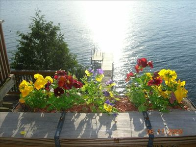 Photo for Majestic Lake Champlain Family Home- Pvt Beach, Dock, Sunsets, Relaxation & Fun!