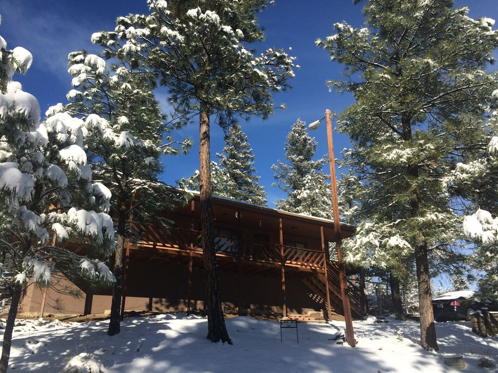 cozy ruidoso cabin near skiing hiking gol vrbo