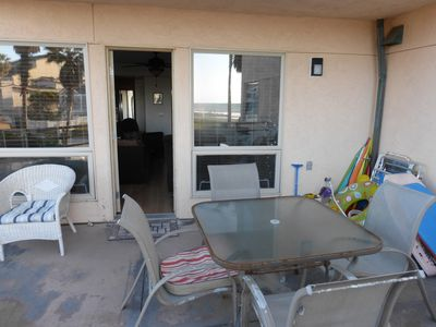 Our patio.