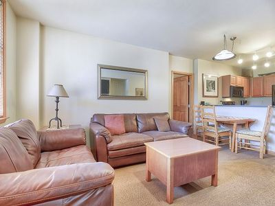 Photo for Ski in Ski out slopeside two bedroom at the Zephyr Mountain Lodge. Sleeps 8!!