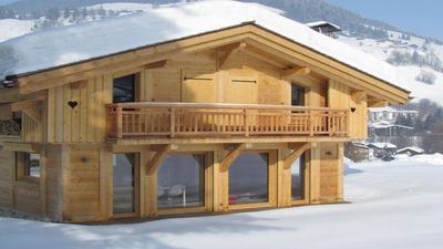 Photo for Very comfortable family chalet located next to the ski slopes