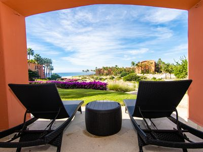 Photo for BEACHFRONT VILLA CARACOL 103 CASA DEL MAR! GROUND LEVEL 2 BED/2 BATH CONDO! 1 KING 2 QUEENS SLEEPS 6