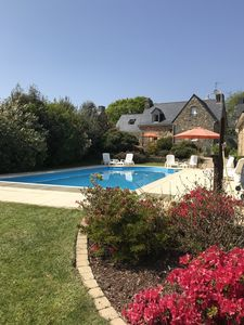 Photo for CHARMING VILLA WITH HEATED SWIMMING POOL, capacity 10 people Classified 4 stars