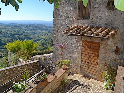 Photo for Medieval Umbria Country House with Private Pool & Great Views
