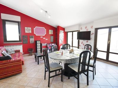 Photo for Holiday apartment Tortoreto for 4 persons with 1 bedroom - Penthouse holiday apartment