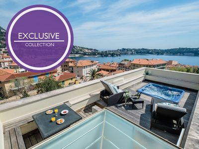 Photo for Villa Violette... dip into the rooftop terrace jacuzzi!