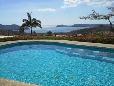 Photo for Quiet, Peaceful Mountain Top Villa With Breathtaking Ocean Views And Sunsets