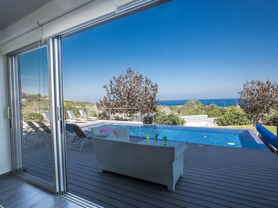 Photo for Villa Kono Sunshine - Luxury 4 Bedroom Cape Greco - Villa Close to Beach with Panoramic Views