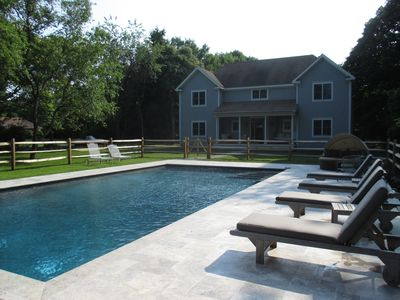 Photo for Stylish Shelter Getaway! Private Dock. Heated Saline Pool. Clean & Uncluttered
