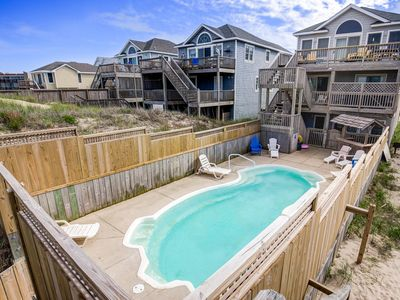 Photo for High Tide | Oceanfront | Dog Friendly, Private Pool, Hot Tub | Nags Head