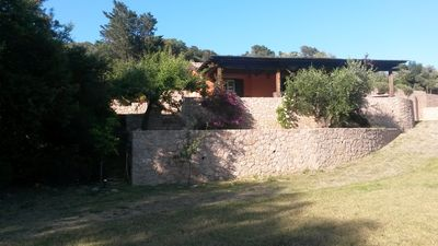 Photo for Charming property with 2 independent houses surrounded by greenery and overlooking the Forts.