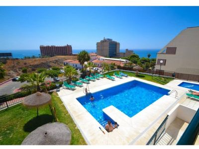Photo for Benalmadena costa Attic apartment 200 meters from the beach