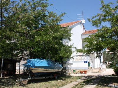 Photo for Three bedroom apartment with terrace and sea view Turanj (Biograd)