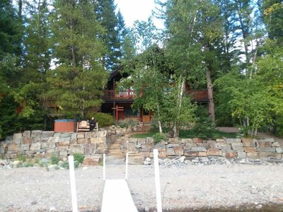 Family Together!  Amazing lakeside cabin!
