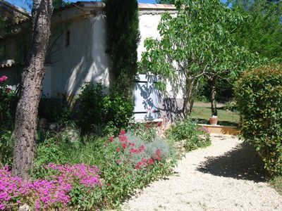 Photo for cottage ventoux, in the heart of Provence between the lace of Montmirail, the Vento