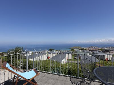 Photo for 1st floor apartment, sleeps 2/4 with Balcony, stunning views, parking & wifi