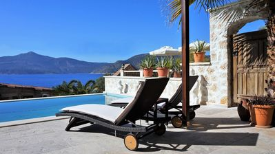 Photo for Luxury, Totally Refurbished Sea Front Villa, Stunning Sea Views and Private Pool
