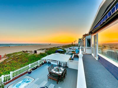 Photo for 20% OFF OPEN MAY - Waterfront Beach Home w/ Views, Jacuzzi, Deck & Patio