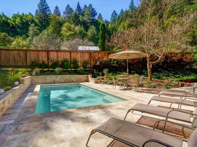 Photo for Wine Country Hideaway: 4BR, 2200Sf Rural Home With Solar-Heated Swimming Pool
