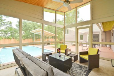 Sunroom - Spend leisurely afternoons relaxing in the sunroom.