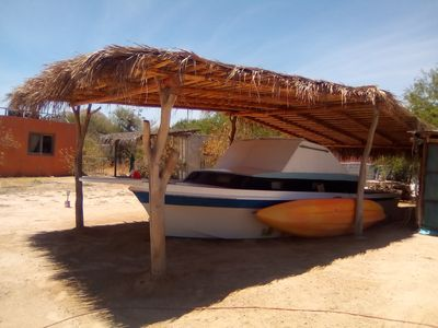 "Photo for Cabo Pulmo National Park boat room hotel "" The Love Boat"""