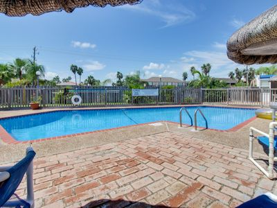 Photo for Beachfront condo w/amazing views, shared pool, & more - dog-friendly, too!