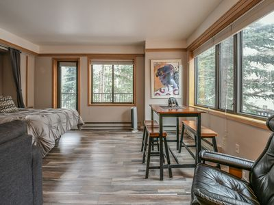 Photo for Slopeside 2730- Beautiful studio located near the Keystone Mountain House Base